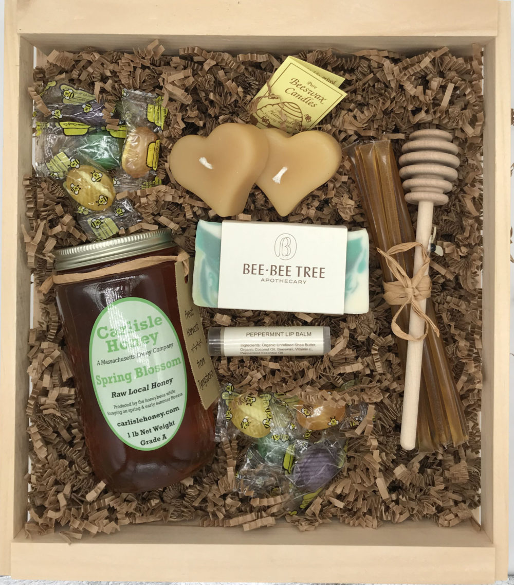 Small Honey Gift Crate