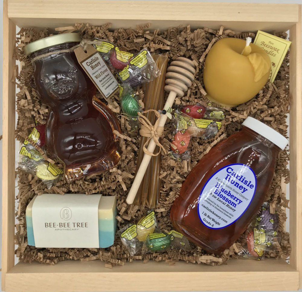 Large Honey Gift Crate