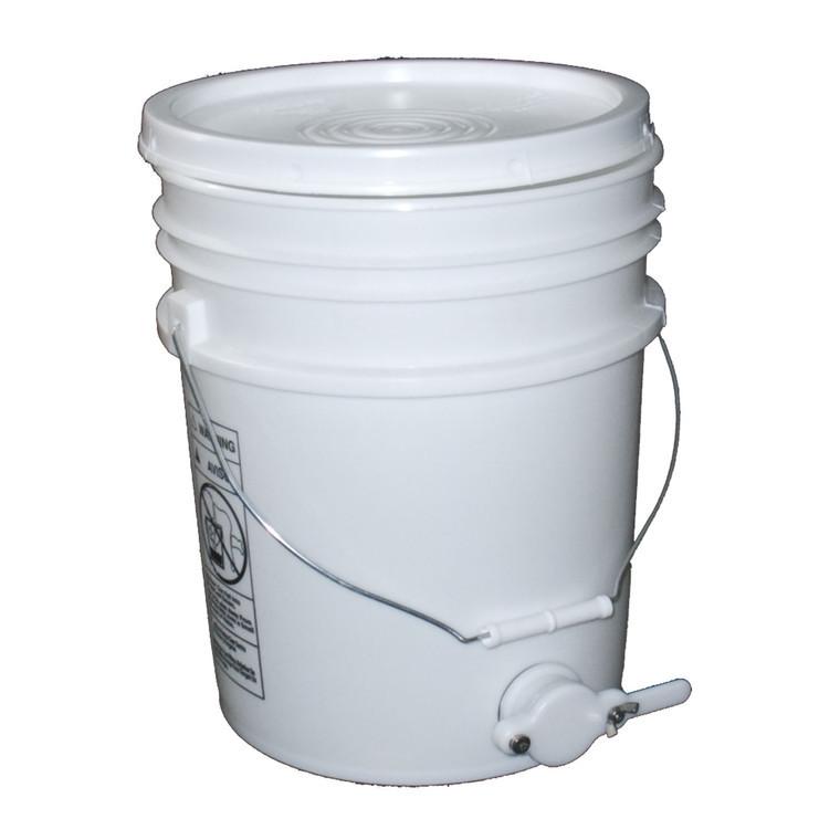 Bottling Bucket with Honey Gate